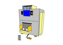 Автоматизированная линия измерения и сортировки пружин рессорного комплекта грузовых вагонов АЛИСП-М