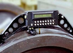 Малогабаритный автоматизированный прибор для измерения колес МАИК