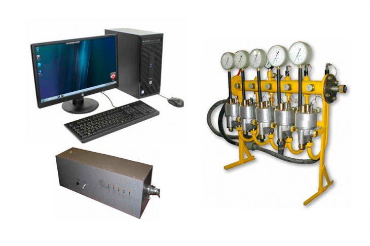 Устройство зарядки и опробования тормозов с регистрацией УЗОТ-РМ