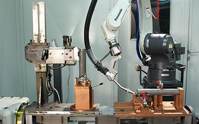 Обслуживание и сервис роботизированных сварочных систем Panasonic